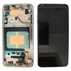 Ecran complet + Coque avant LG V30 (H930). Originale