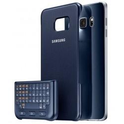Cover rear + keys Original Samsung Galaxy S6 Edge+ EJ-CG928M QWERTZ