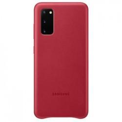 Cubierta Trasera de cuero Samsung Galaxy S20