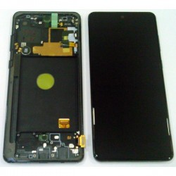 Display Unit + Front Cover Original Galaxy Note 10 Lite N770 (Service Pack)
