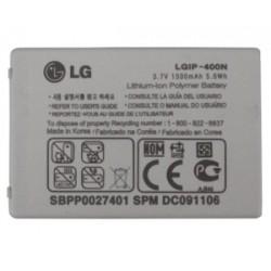 Batterie LG P500 Optimus One, GM750, GT540, GW620, GW800 (LGIP-400N)