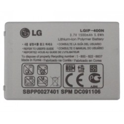 Battery LG P500, E720, GM750, GT540, LGIP-400N