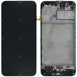 Display Unit + Front Cover Samsung Galaxy M31 (M315F). Service Pack
