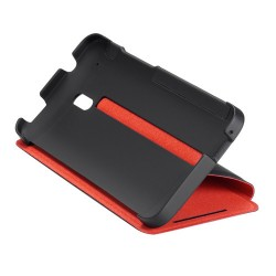 Genuine case with flap and stand HTC One mini HC V851