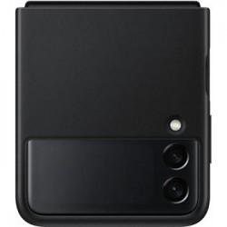 Original Leather Cover Samsung Galaxy Z FLIP 3 (EF-VF711LBE)