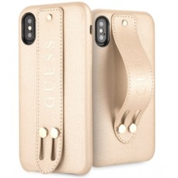 Case Book Guess Saffiano iPhone X/XS (GUHCPXSBSBE)
